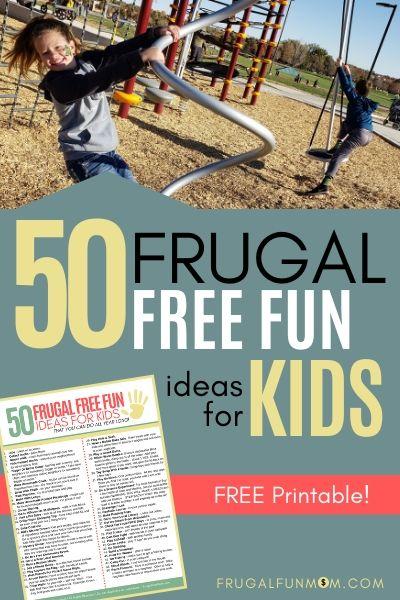 Free Fun Ideas for Kids   Frugal Fun Mom
