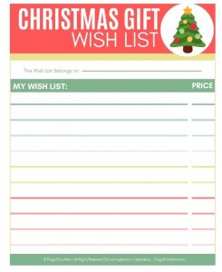 Christmas Gift Wish List | Frugal Fun Mom