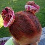 Cupcake Crazy Hair Day Idea