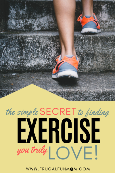 Find exercise you love by walking.