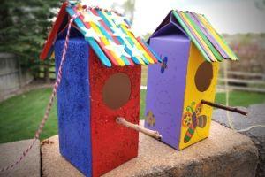 Homemade Birdhouses For Kids | Frugal Fun Mom