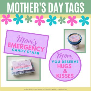 Mother's Day Gift Tags | Frugal Fun Mom