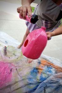 Glittery Birdhouse | Frugal Fun Mom