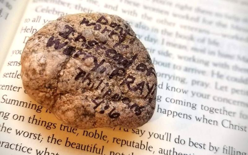 Pocket Prayer Rocks For Anxious Kids | Frugal Fun Mom