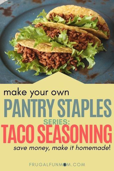Homemade Taco Seasoning | Frugal Fun Mom