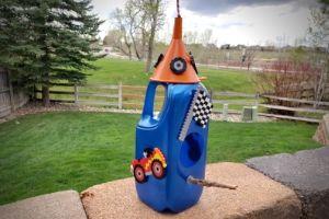 Car Birdhouse For Kids | Frugal Fun Mom