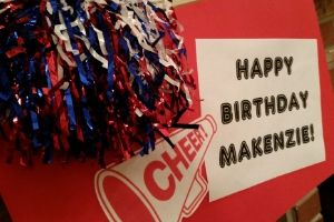How To Throw A Cheerleading Birthday Party | Frugal Fun Mom