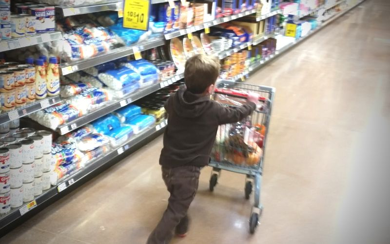 How to Make Grocery Shopping Fun For Kids | Frugal Fun Mom