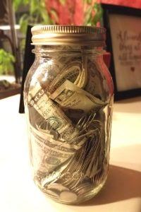 money jar | frugal fun mom
