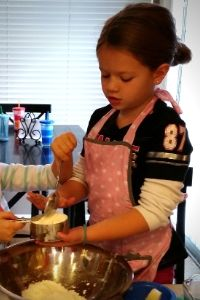 Child baking | Frugal Fun Mom